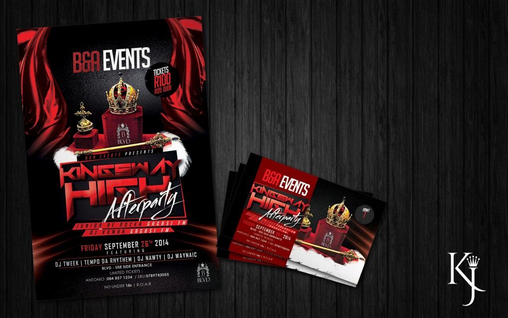 Flyer / Tickets Design