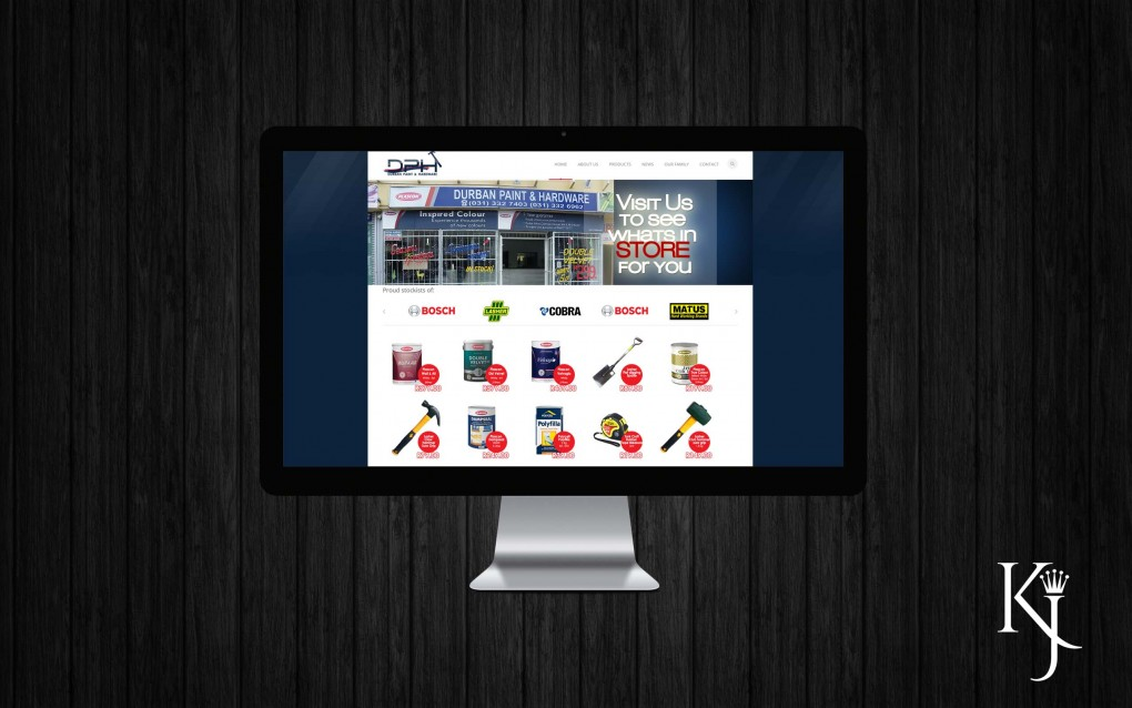 Durban Paint & Hardware Website