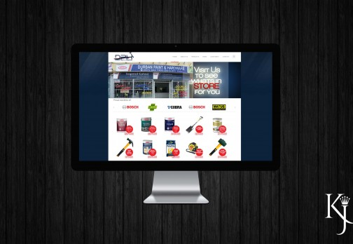Durban Paint & Hardware Website