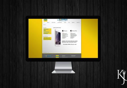 Website Design and Layout & Logo Design