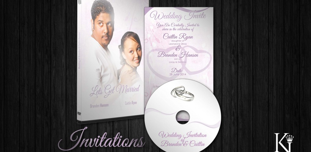 Wedding Invitation – Packaging and Digital Design