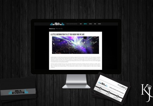 Website & Business Card Design